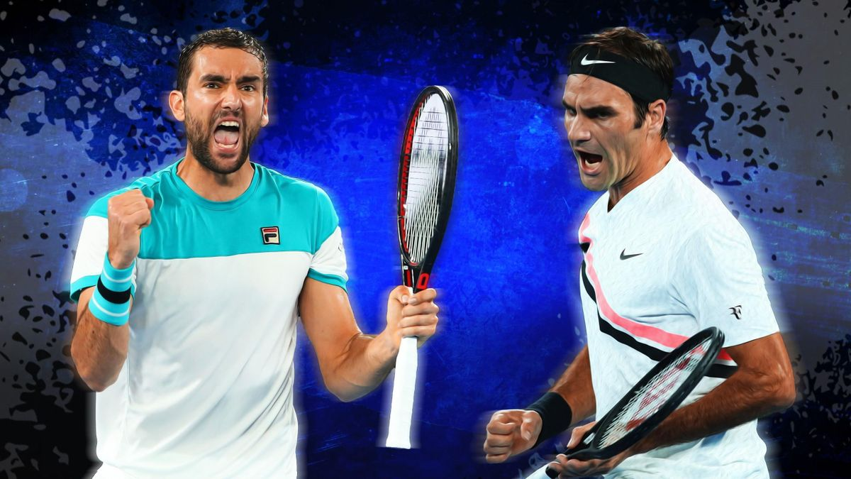 Marin Cilic - Roger Federer - Open d'Australie 2018