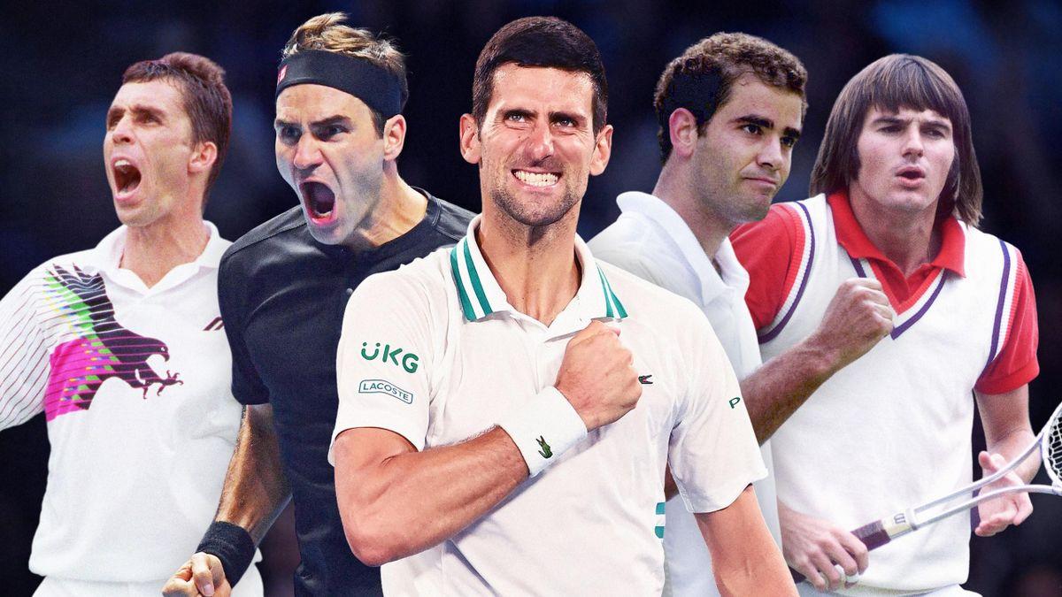 Après Connors, Lendl, Sampras et Federer : Djokovic a surgi pour devenir le roi des N°1