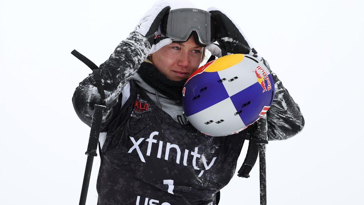 Tess Ledeux à Aspen.