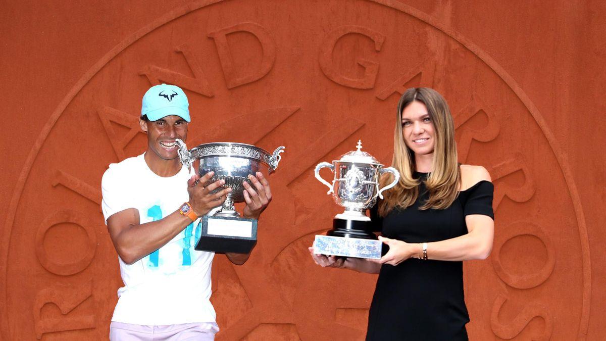 Rafa Nadal y Simona Halep, Roland Garros