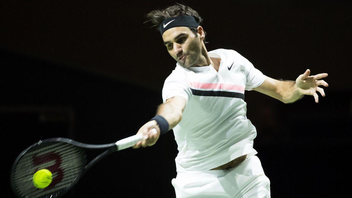 Roger Federer - ATP Rotterdam 2018