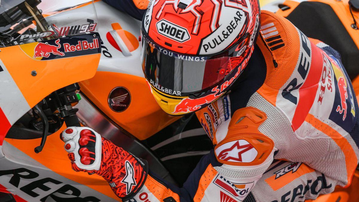 Marc Marquez (Honda HRC) vainqueur du Grand Prix de Malaisie 2018