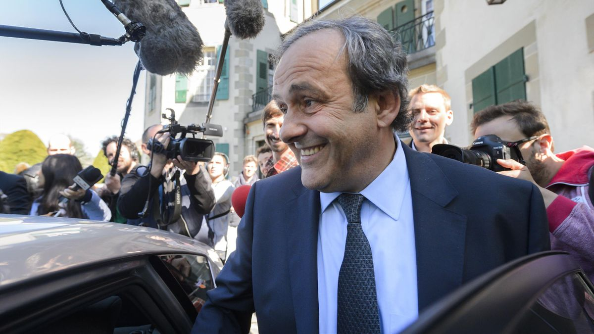 UEFA's fallen chief Michel Platini leaves the Court of Arbitration for Sport (CAS) after his appeal hearing against his six-year FIFA ban for ethics violations, on April 29, 2016 in Lausanne. CAS will rule on Michel Platini's appeal against his six-year F