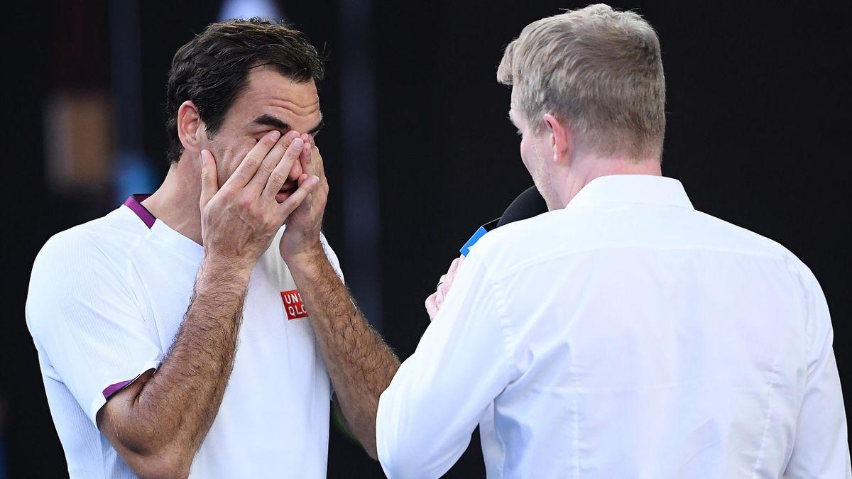 Roger Federer mit Jim Courier