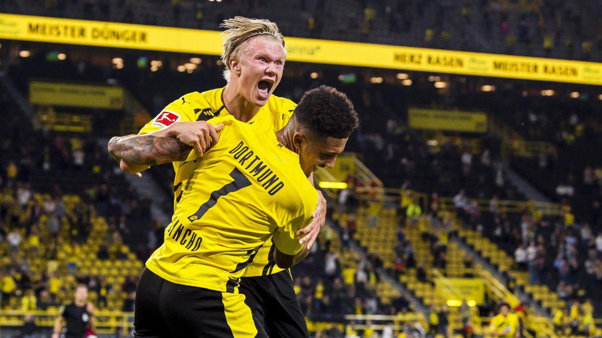 BVB-Stars Erling Braut Haaland und Jadon Sancho