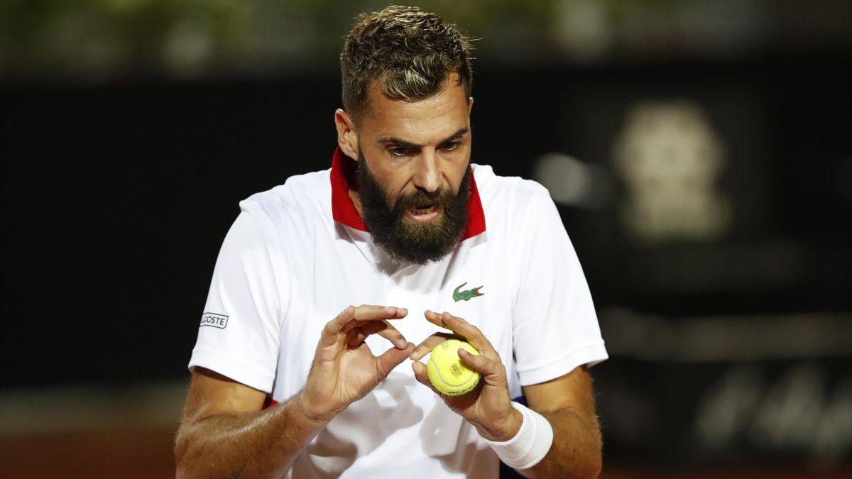 Benoît Paire a avut o nouă reacție nervoasă la turneul de la Roma