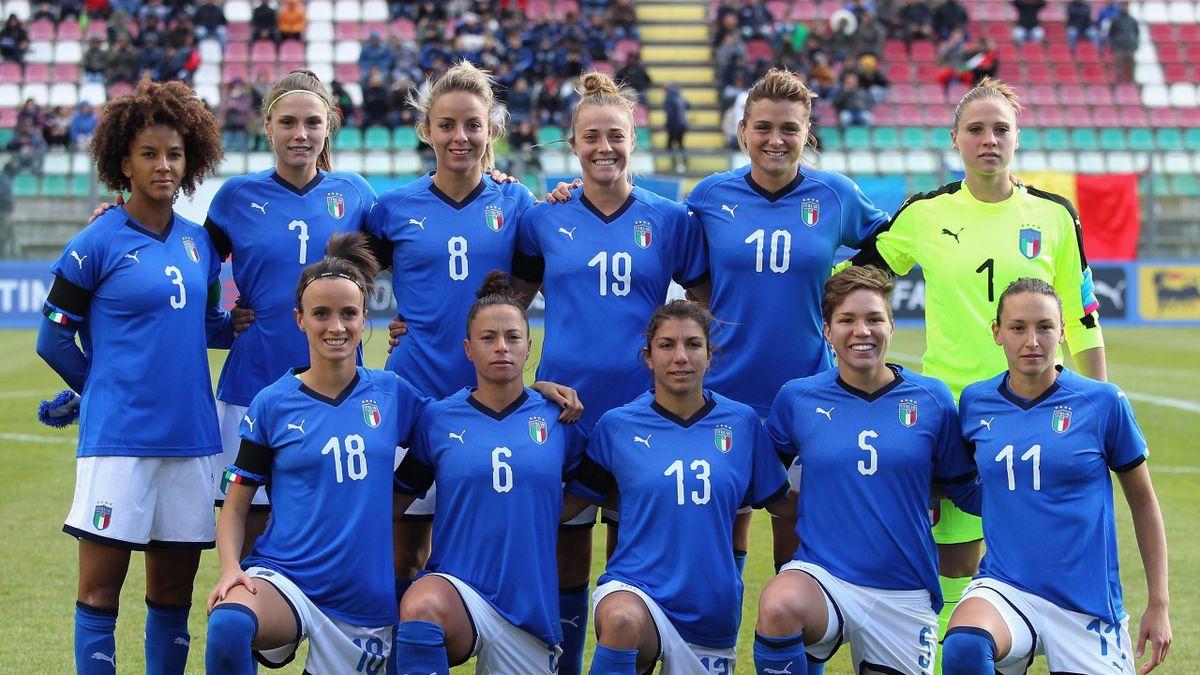 Nazionale Italiana Calcio Femminile - Qualificazioni Francia 2019