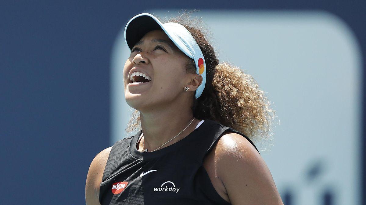 Naomi Osaka ist beim WTA-Turnier in Miami im Viertelfinale ausgeschieden