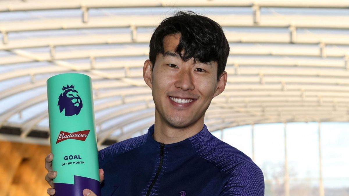 son goal of the month