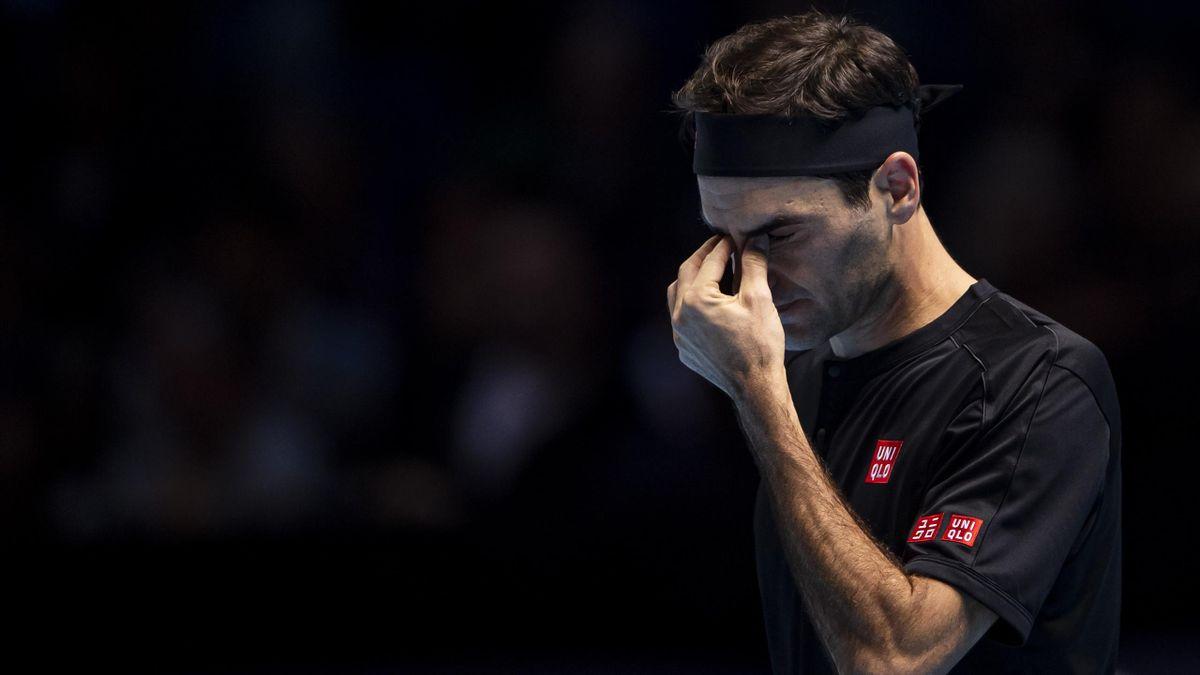 Roger Federer bei den ATP-Finals 2019