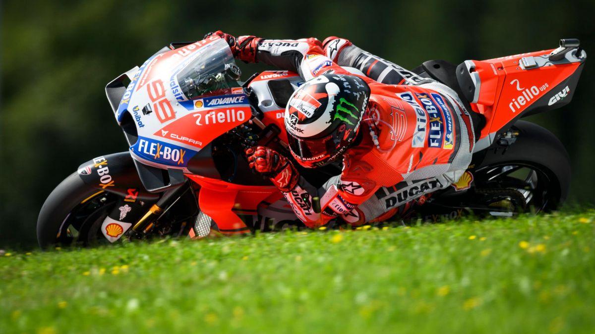 Jorge Lorenzo - Grand Prix d'Autriche 2018