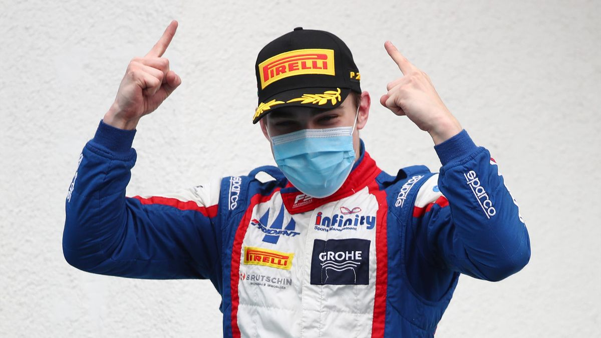 David Beckmann fährt in diesem Jahr in der Formel 2
