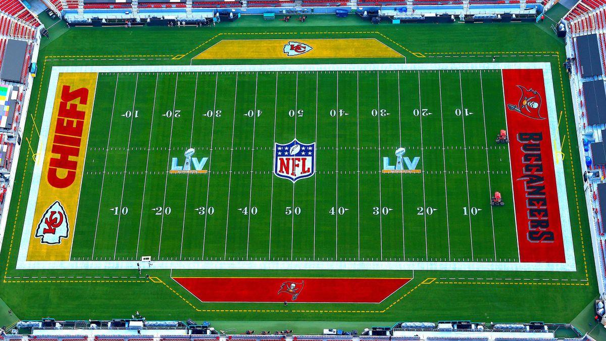 Super Bowl LV NFL, Tampa Bay Buccaneers-Kansas City Chiefs