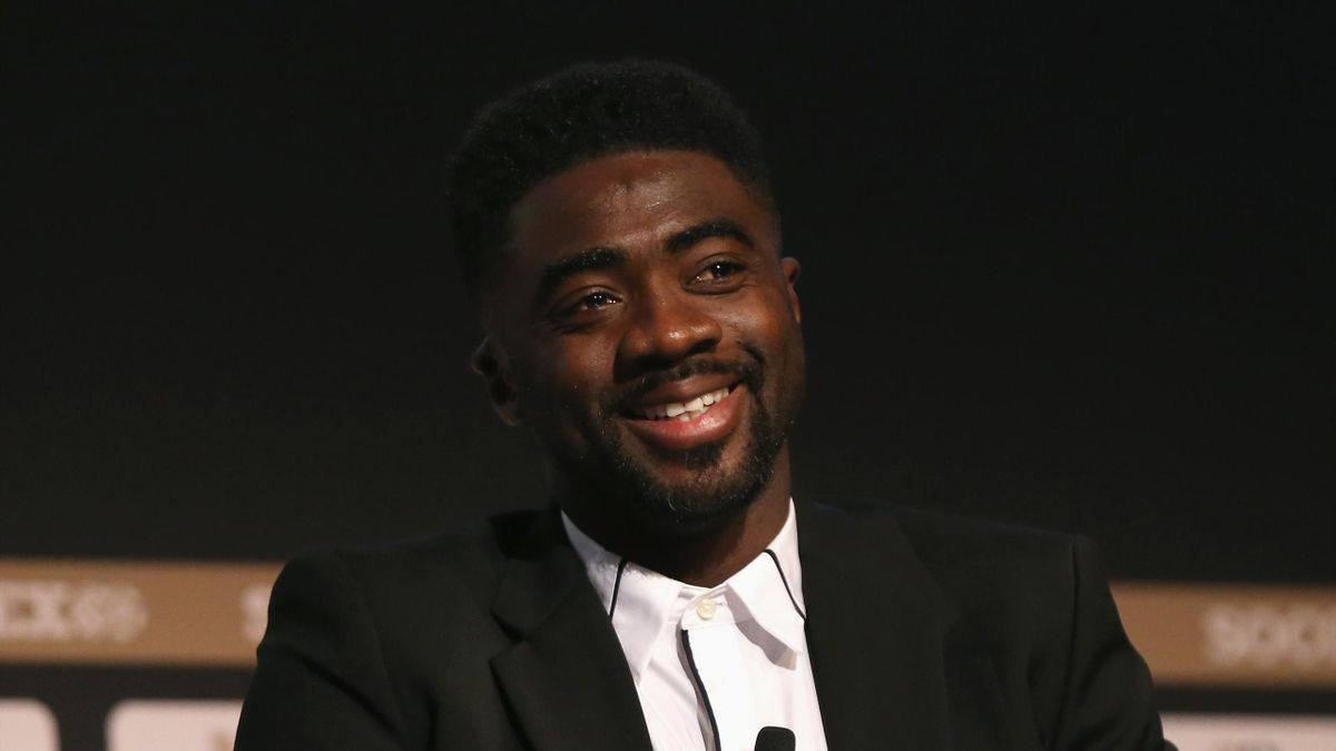 Kolo Toure, former Arsenal & Manchester City player talks during day 3 of the Soccerex Global Convention at Manchester Central Convention Complex on September 6, 2017 in Manchester, England.