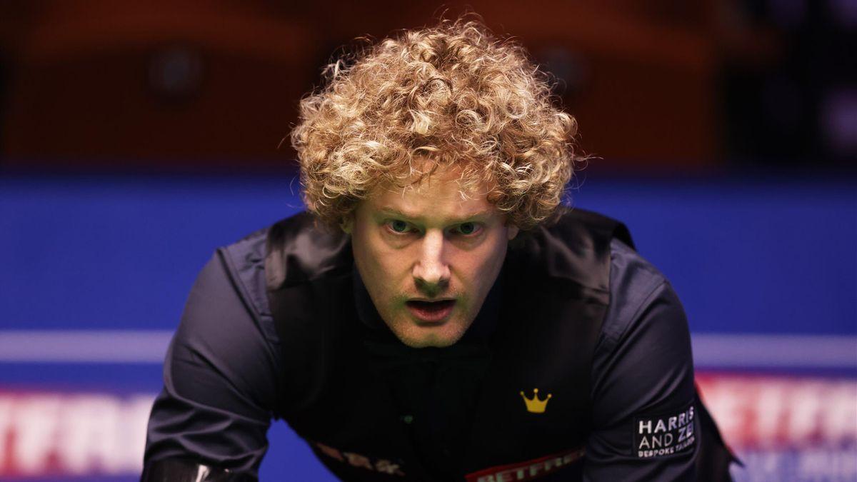 Neil Robertson bei der Snooker-WM 2021