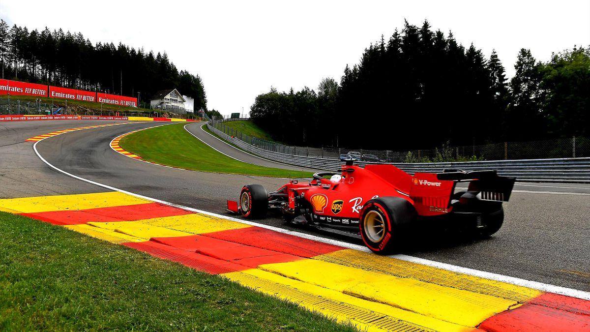 Charles Leclerc (Ferrari) au Grand Prix de Belgique 2020
