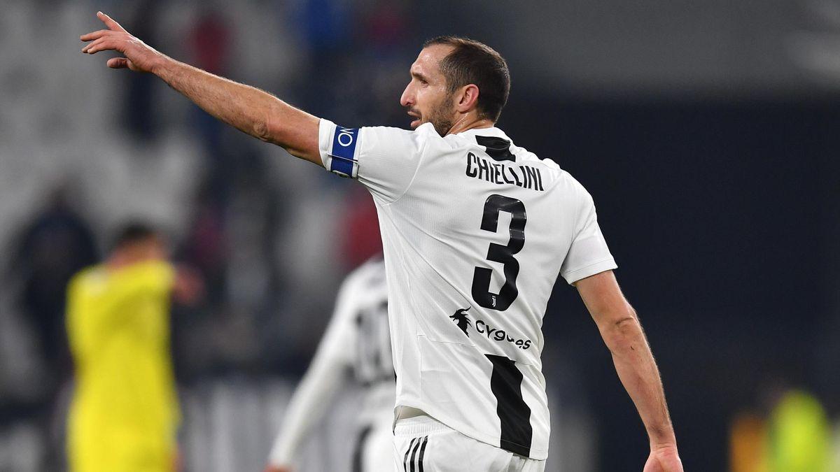 Chiellini fa 500 presenze con la Juventus ( 100 in azzurro) nella ...