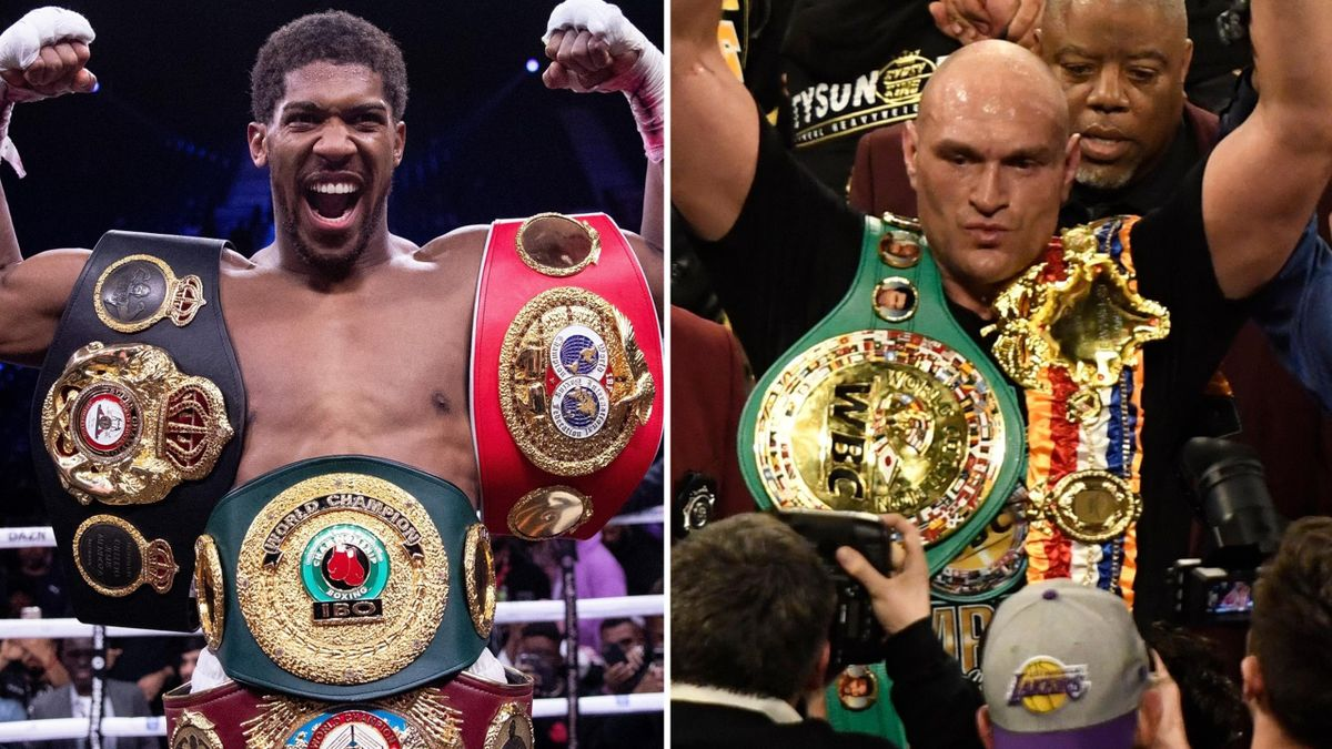 Anthony Joshua vs Tyson Fury would be one of the biggest all-British fights in boxing history