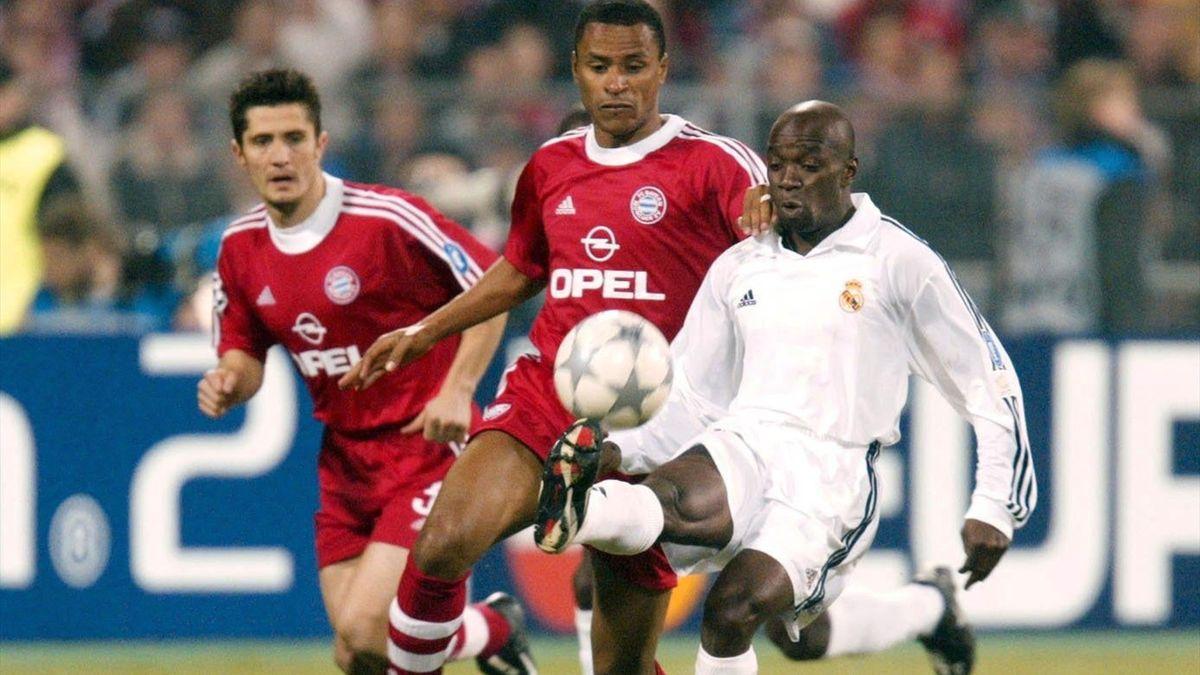 Клод Макелеле («Реал») против «Баварии» в Лиге чемпионов