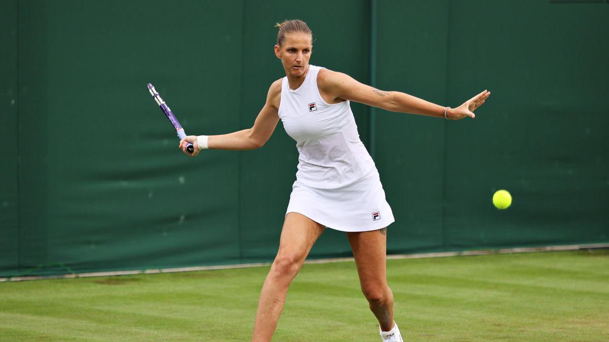 Karolina Pliskova steht in Wimbledon in Runde zwei