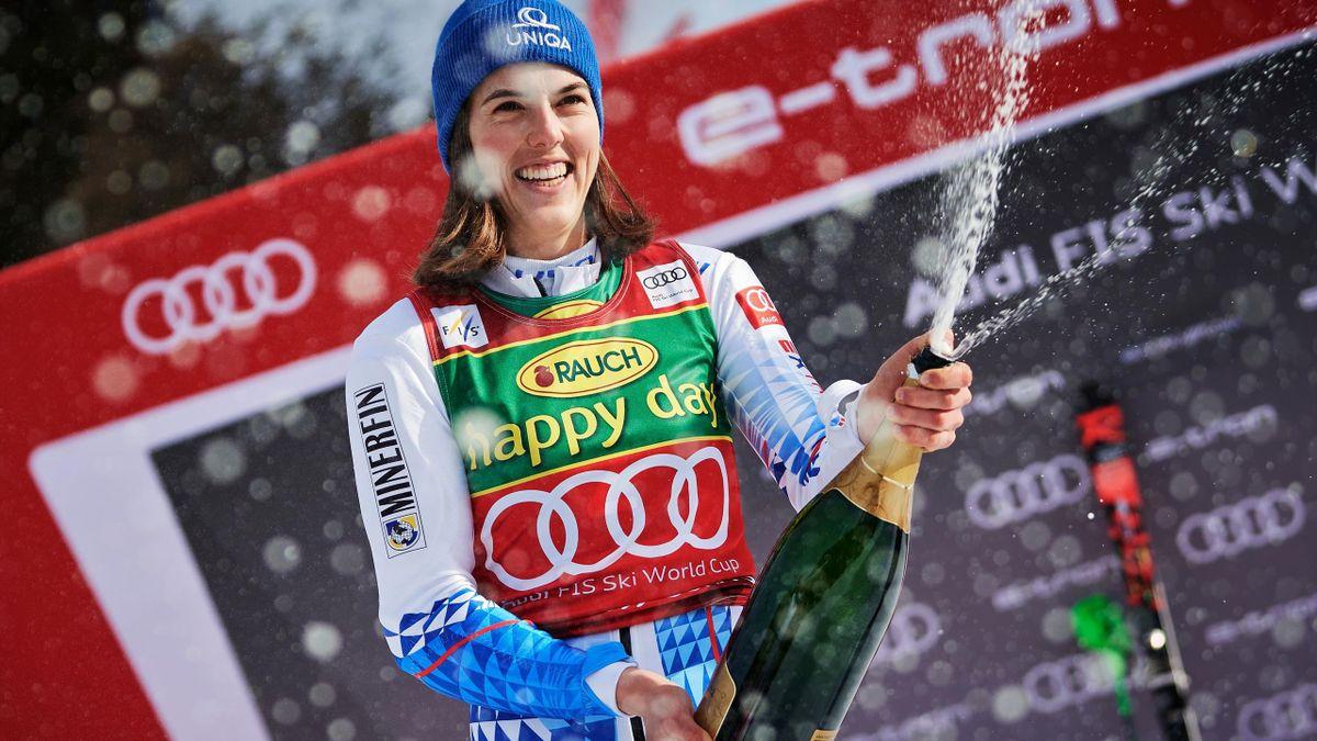 Petra Vlhova gewinnt Slalom