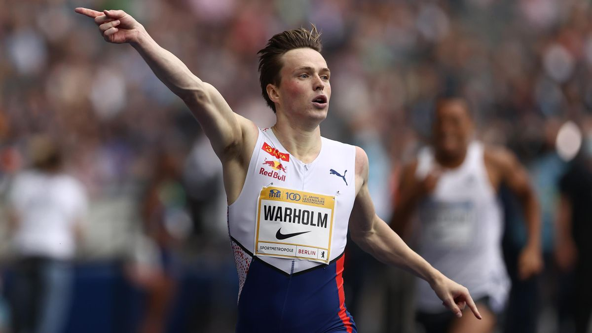 Karsten Warholm a remporté une nouvelle victoire cette saison sur 400m haies, au meeting de Berlin