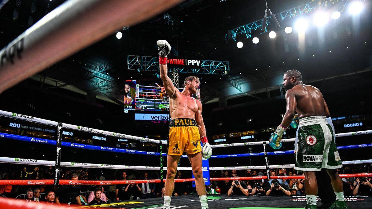 Logan Paul, în duelul cu neînvinsul Floyd Mayweather