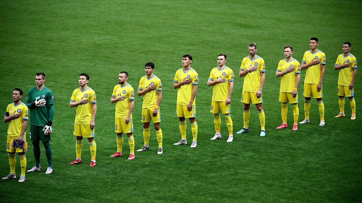 Казахстан в матче против Франции