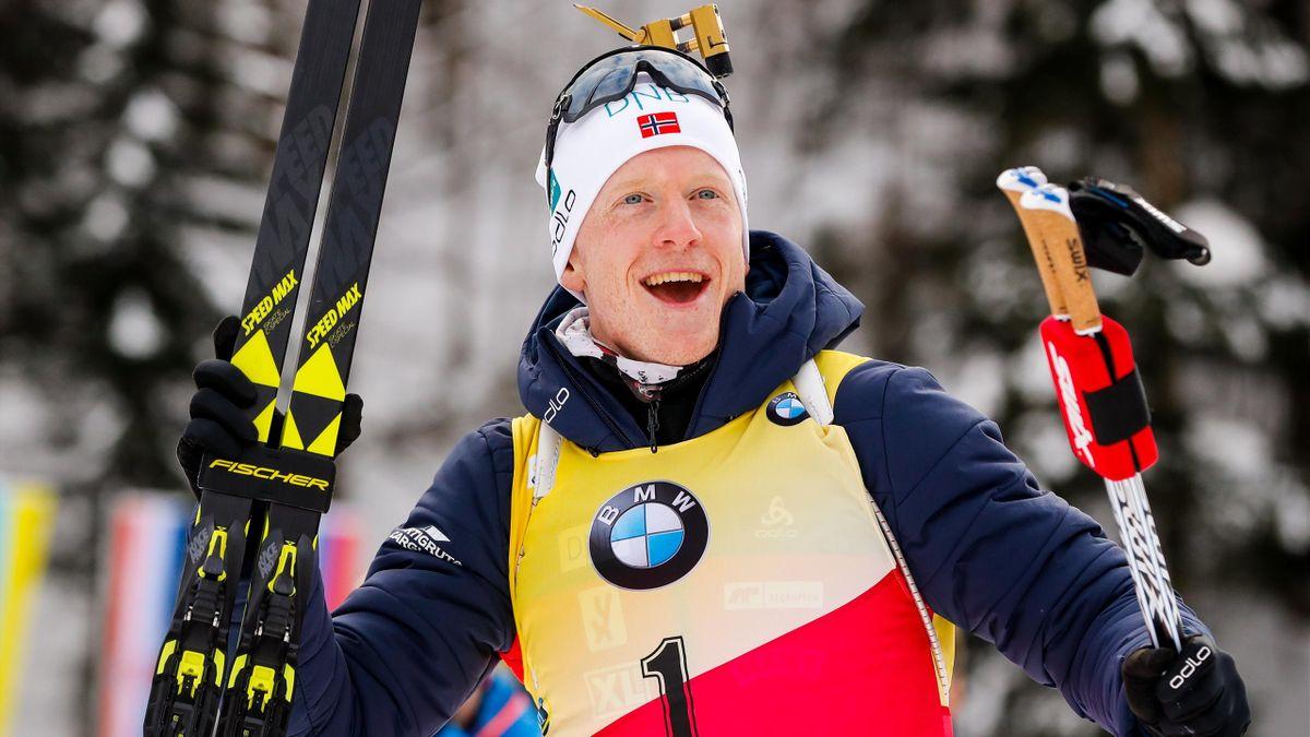 Johannes Boe, vainqueur de la mass start de Ruhpolding - 20/01/2019