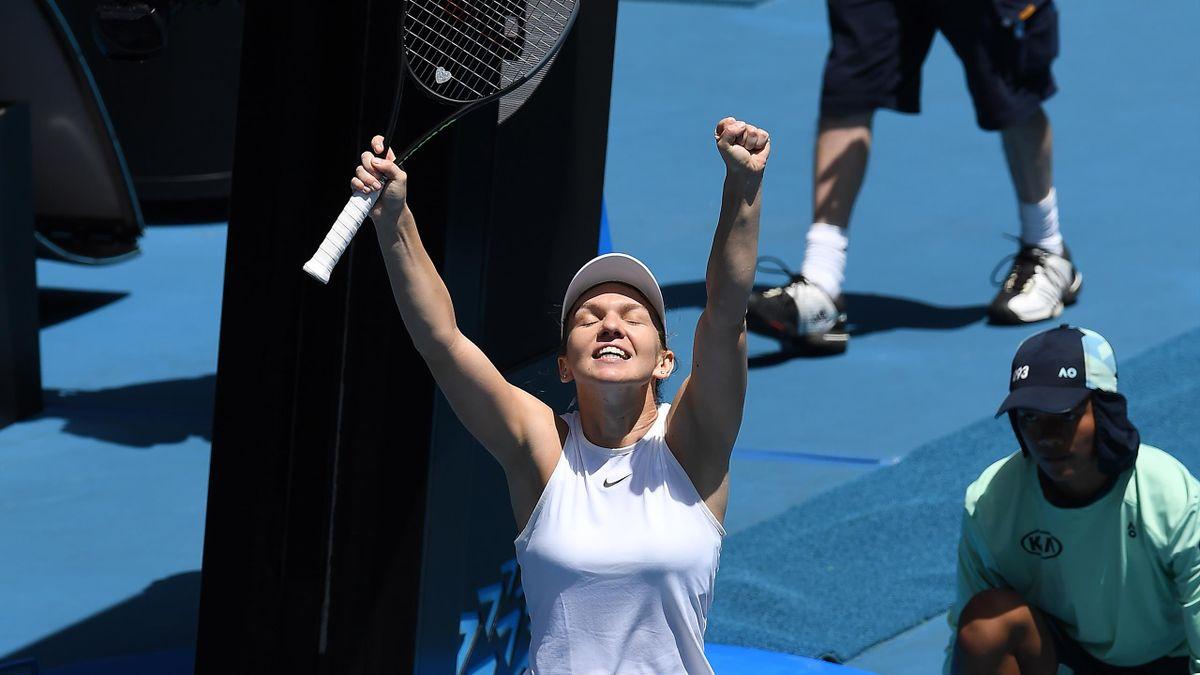 Steht im Viertelfinale: Simona Halep