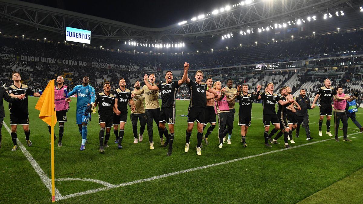 Ajax Amsterdam feiert bei Juventus Turin