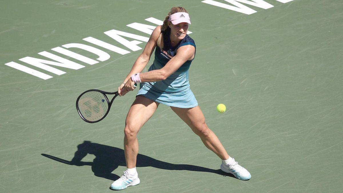 Angelique Kerber im Finale von Indian Wells 2019