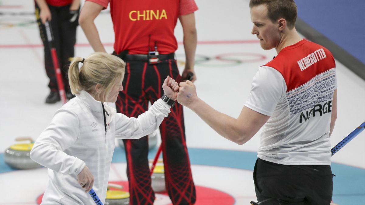 Magnus Nedregotten og Kristin Skaslien