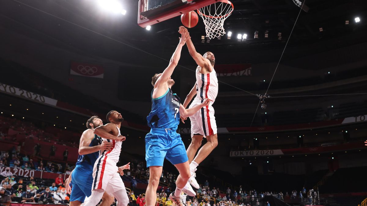 Le contre de Nicolas Batum face à la Slovénie
