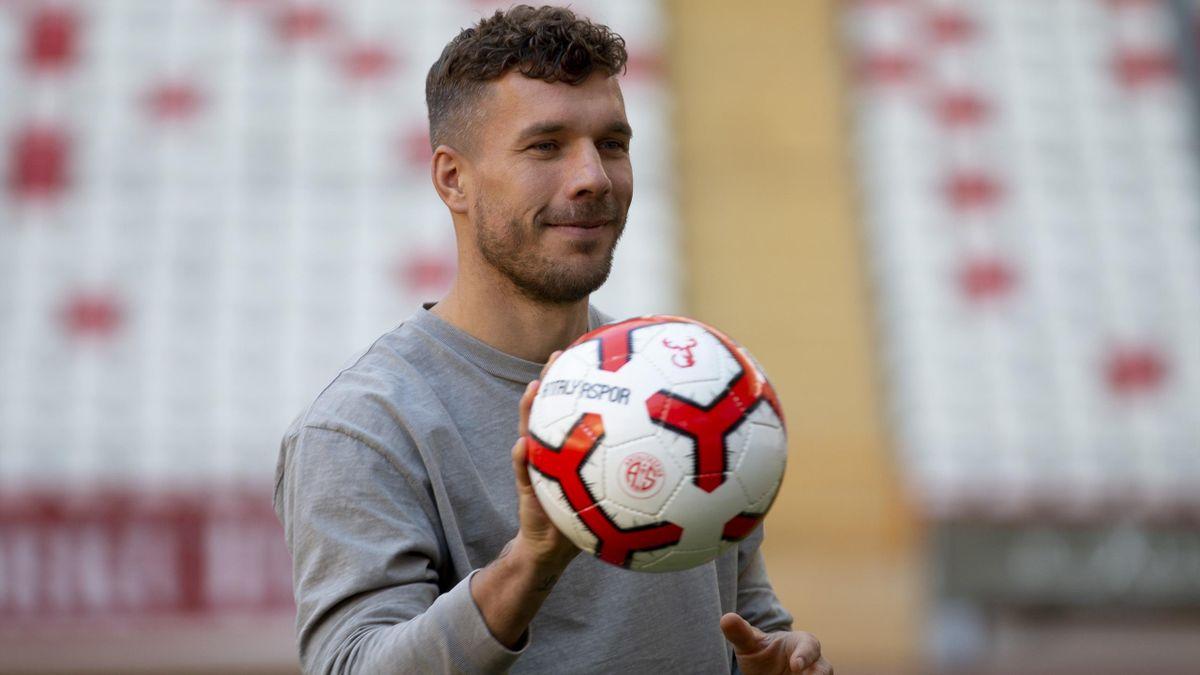 Lukas Podolski bei Antalyaspor
