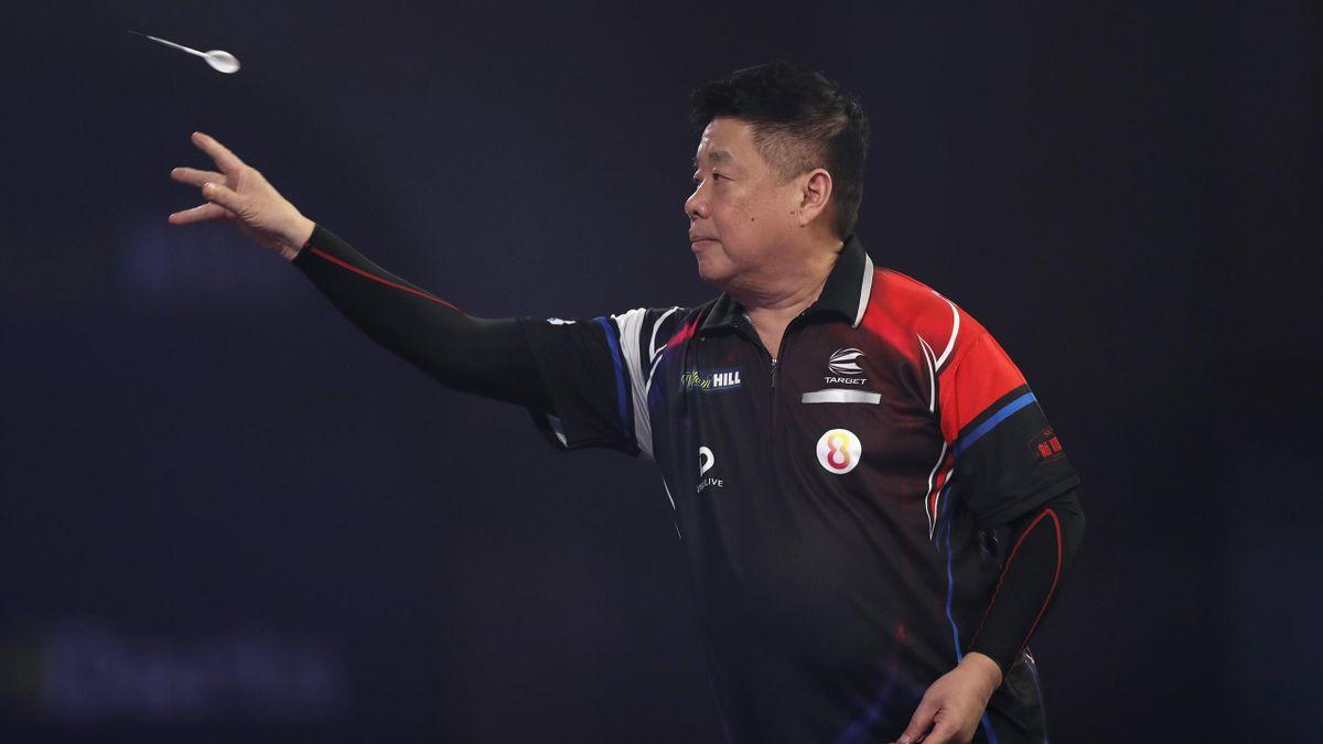 Paul Lim ist bei der Darts-WM in London in der zweiten Runde ausgeschieden