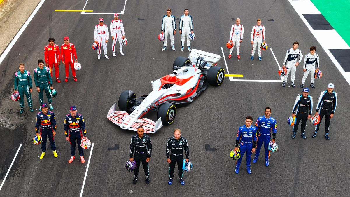 «Формула-1» прдставила прототип болида на сезон-2022