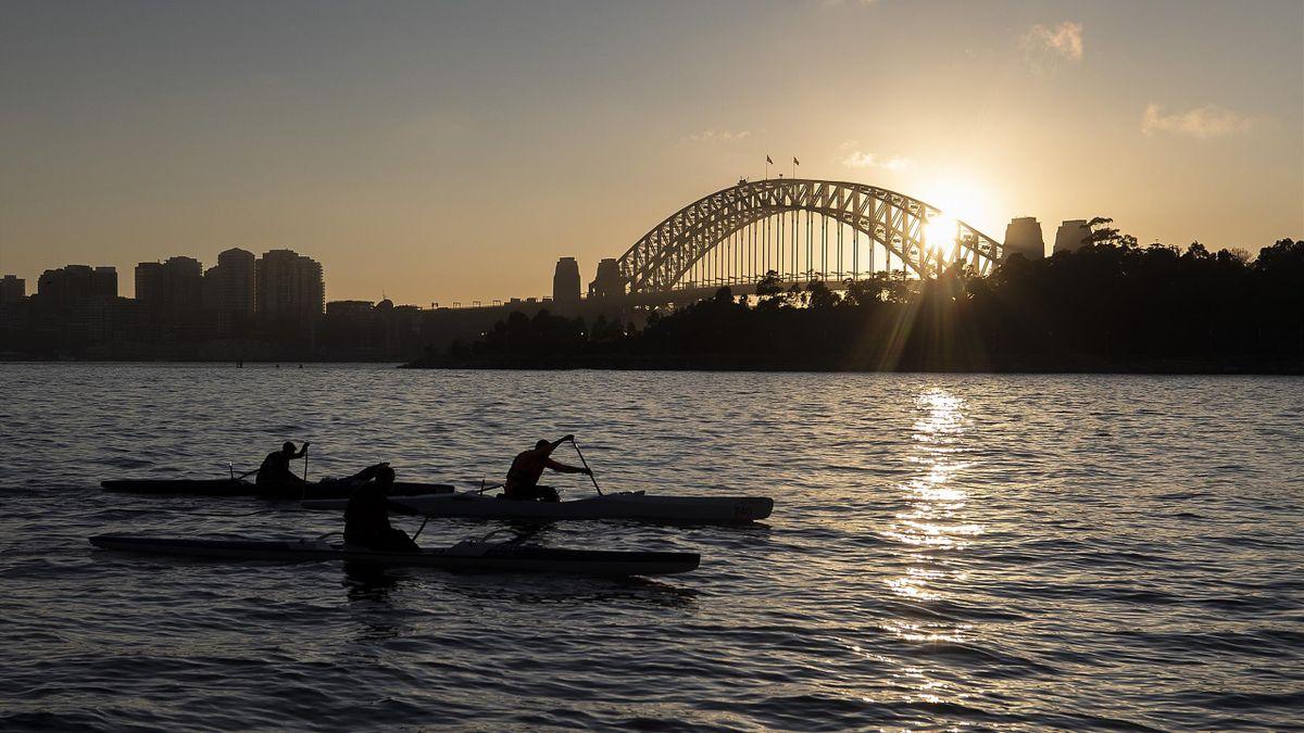 Sydney rowing