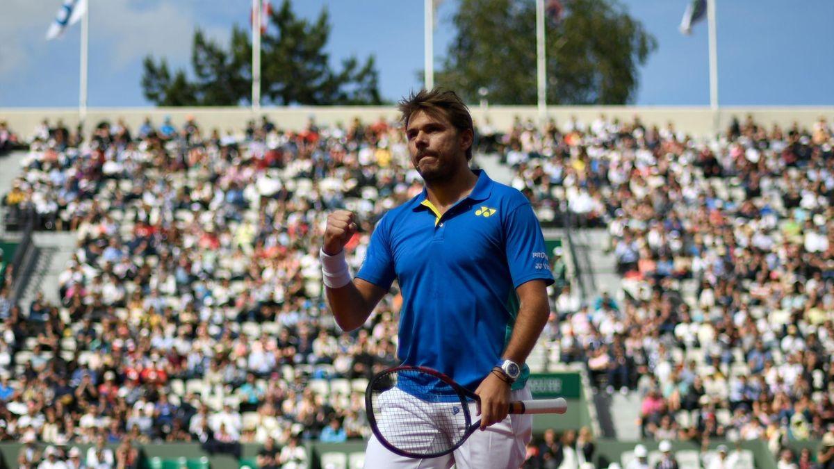 Stan Wawrinka à Roland-Garros (2017).