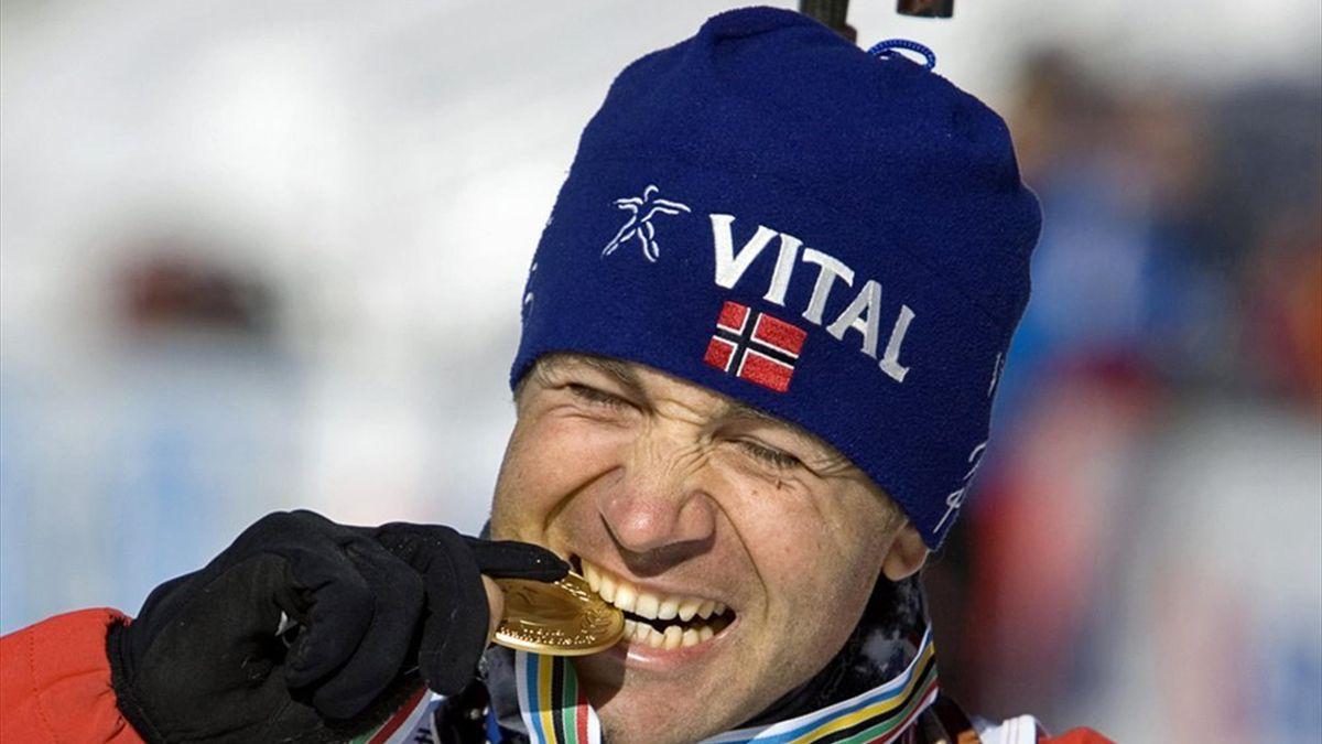 Björndalen sammelte bereits 19 WM-Titel