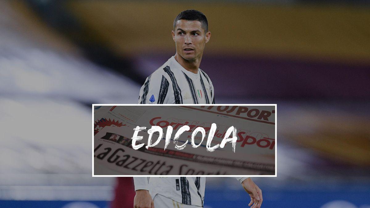 Cristiano Ronaldo, Juventus, Edicola 2020