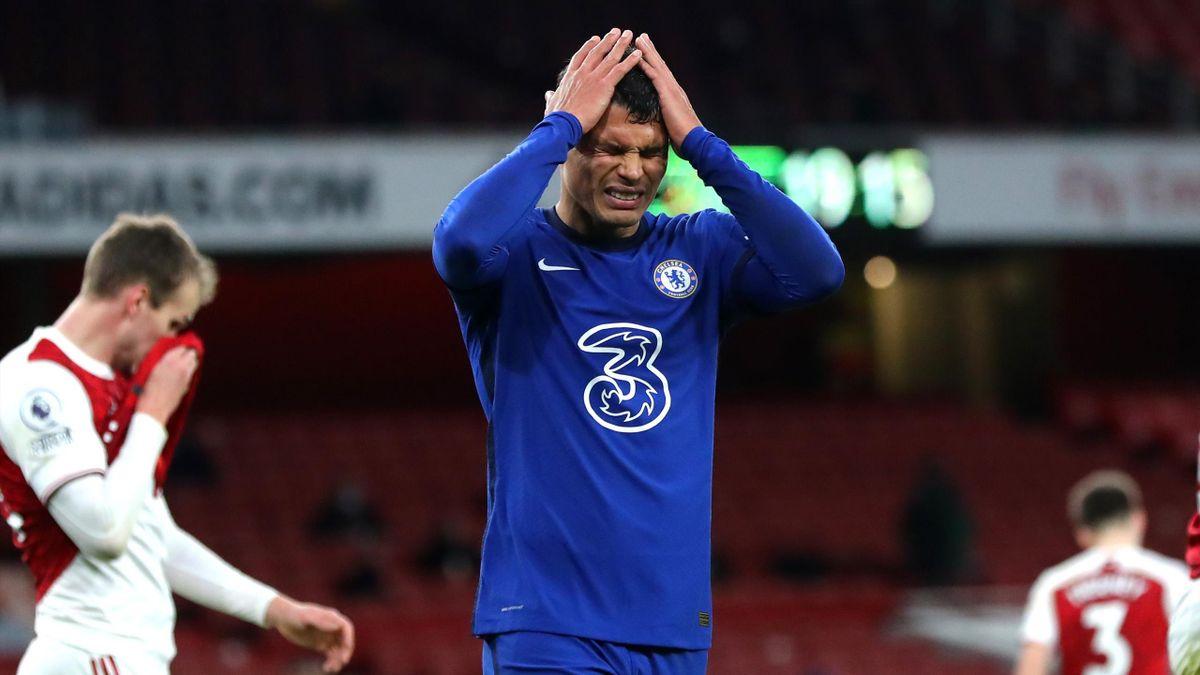 Thiago Silva et Chelsea traversent une mauvaise passe