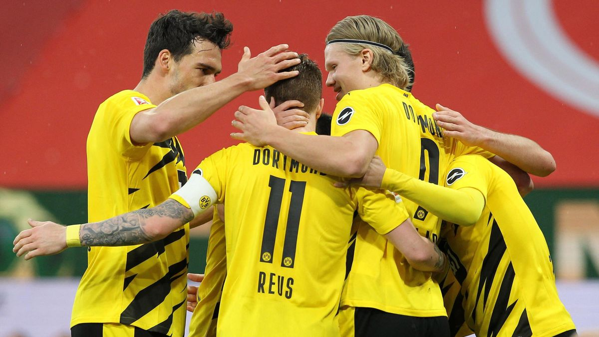 Borussia Dortmund macht die Qualifikation für die Champions League perfekt