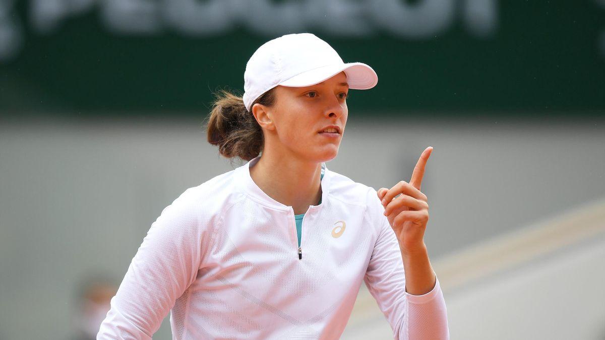 Iga Swiatek, finalistă la Roland-Garros 2020