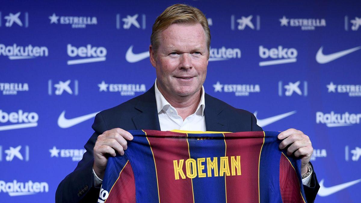 Ronald Koeman od sezonu 2020/21 jest trenerem Barcelony