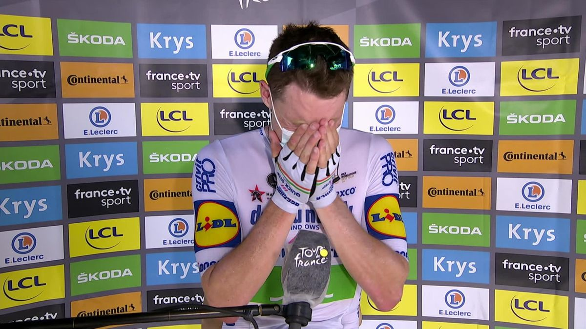 Tour de France Stage 10 - Sam Bennett Interview