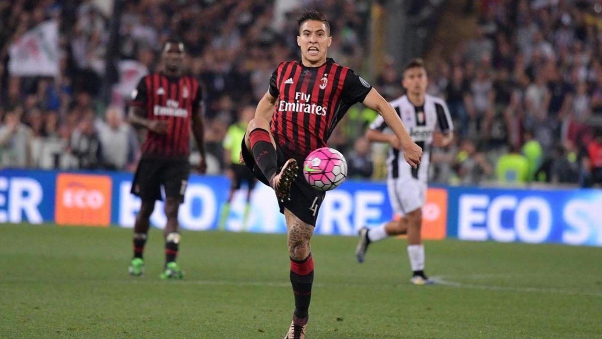 José Mauri - Milan-Juventus - Coppa Italia 2015/2016 - LaPresse