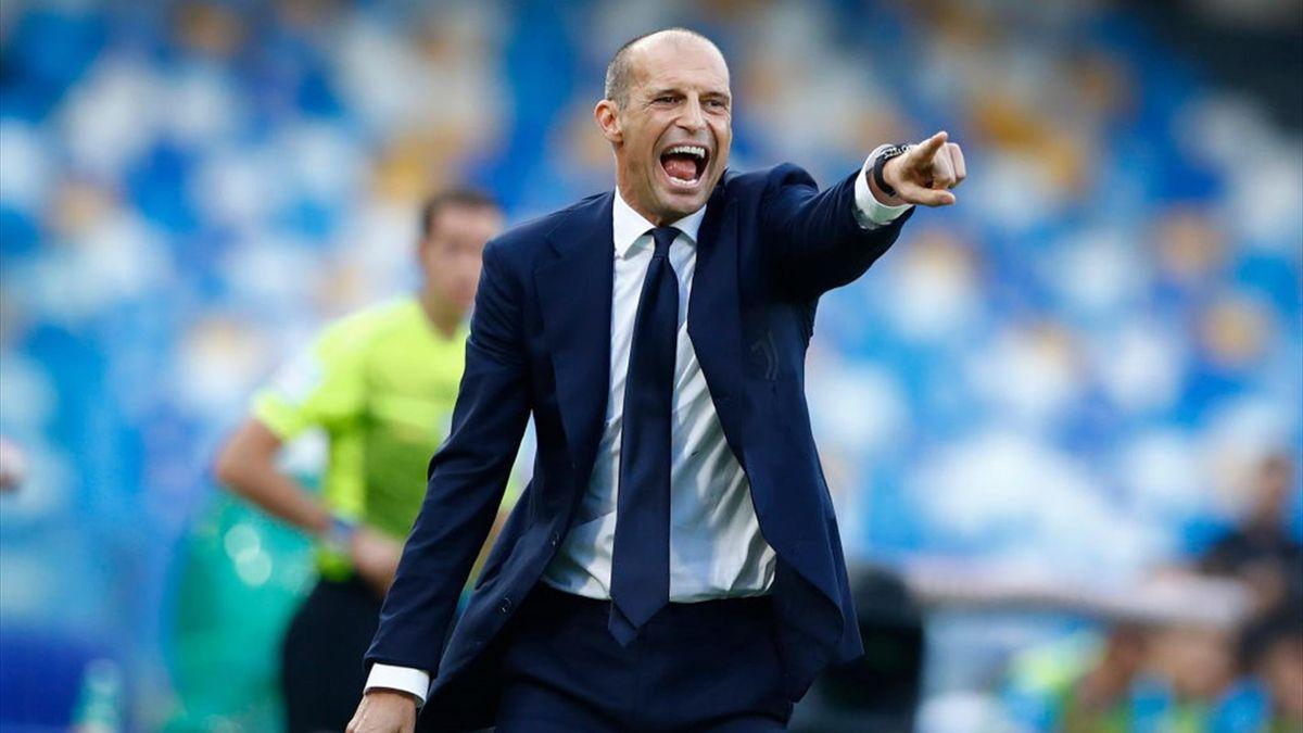 Max Allegri, antrenorul lui Juventus
