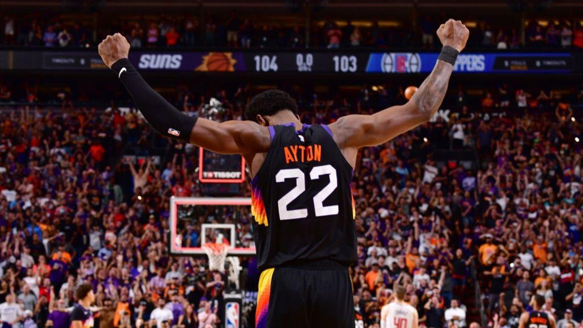 Deandre Ayton, Suns-Clippers