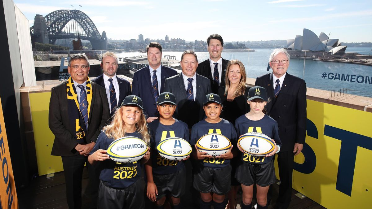 Australia's 2027 Rugby World Cup bid was launched this morning